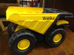 Vintage Tonka truck.