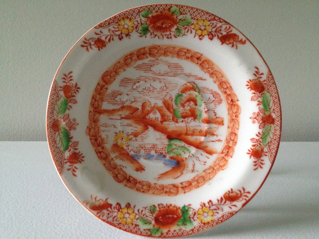 Chinese saucer