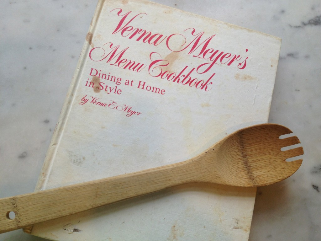 Verna  Meyer's Menu Cookbook
