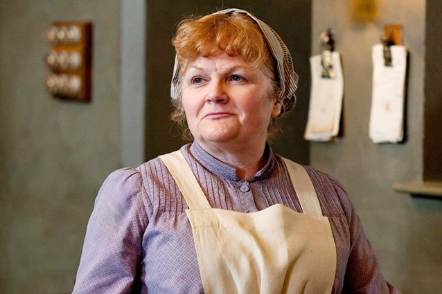 Good on ya, Mrs. Patmore.  We are glad you didn't keel over. Photo credit?
