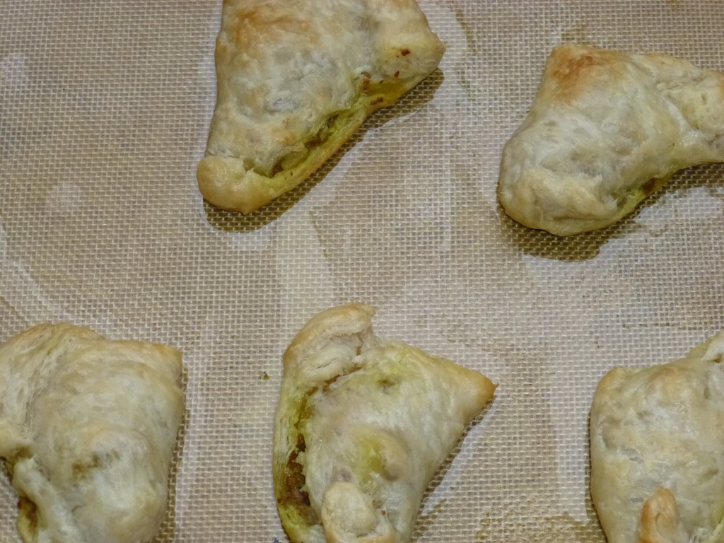Turkey Curry Samosas--baked