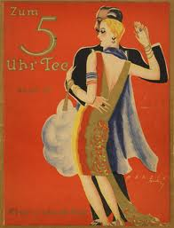 Twenties Tea Dance Poster