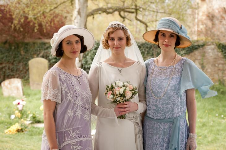 'Costumes of Downton' showing at Wintertur Museum, Garden & Library in Delaware.