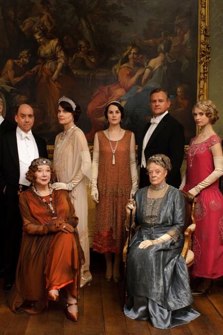 The Lord and Ladies Grantham Photo credit:  Marie Claire