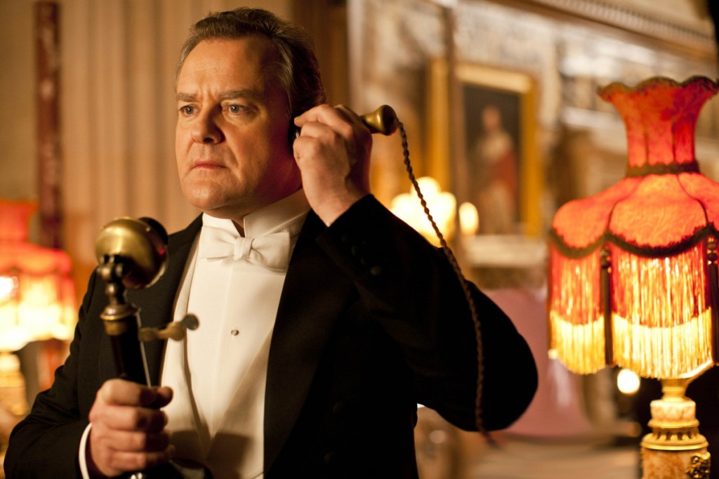 lord grantham answers phone