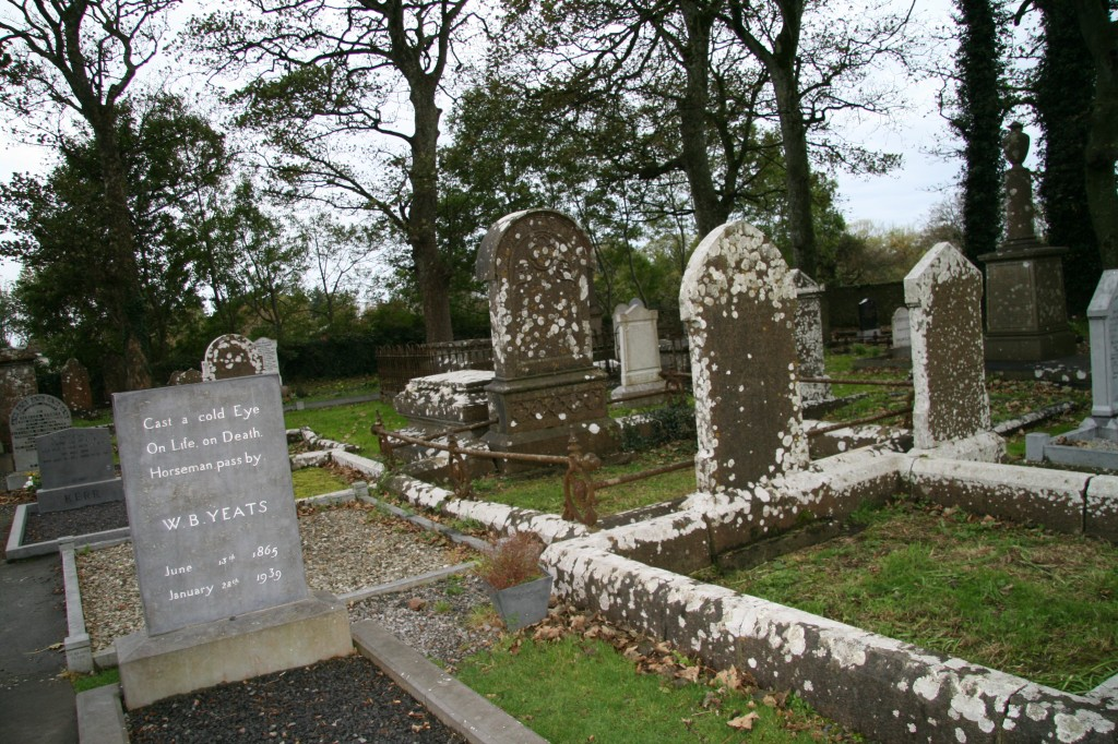 Cemetery where my favorite Irish poet, W.B. Yeats, is buried. Photo credit:  Connie Abbott-Foster