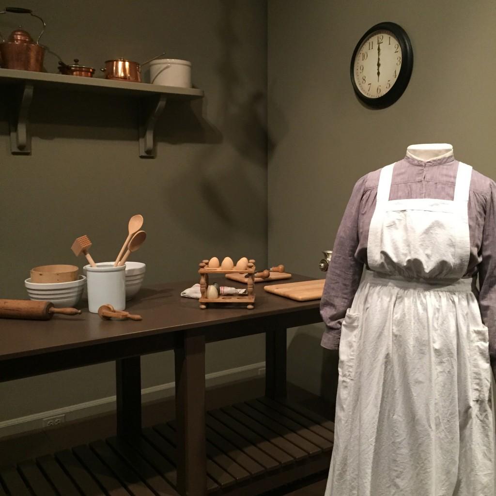 Mrs. Padmore's kitchen