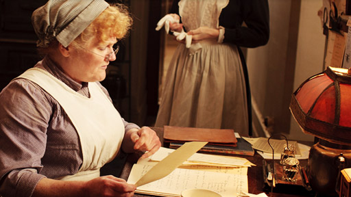 """Sympathy butters no parsnips.""  Mrs. Patmore Nick Bragg/ITV/Carnival Film & Television"