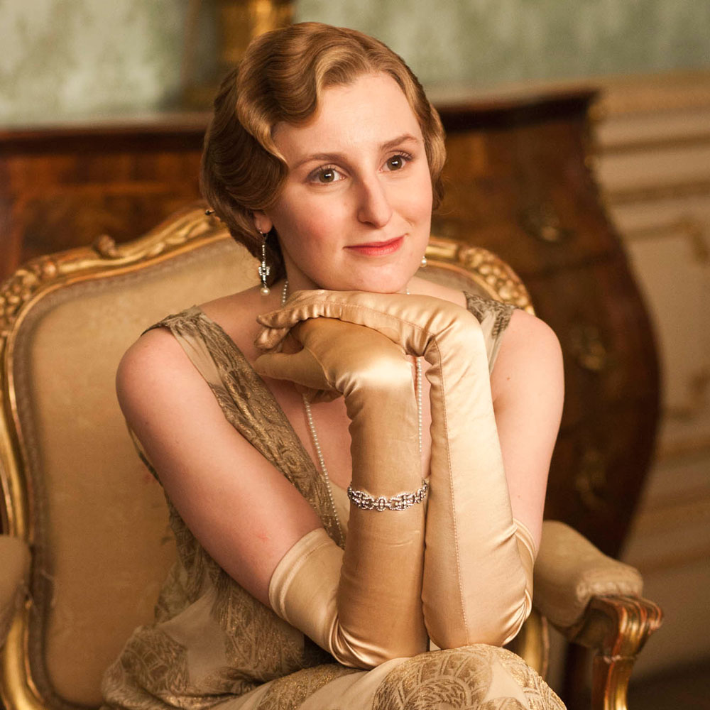 Lady Edith, looking glam. Photo: Marie Claire